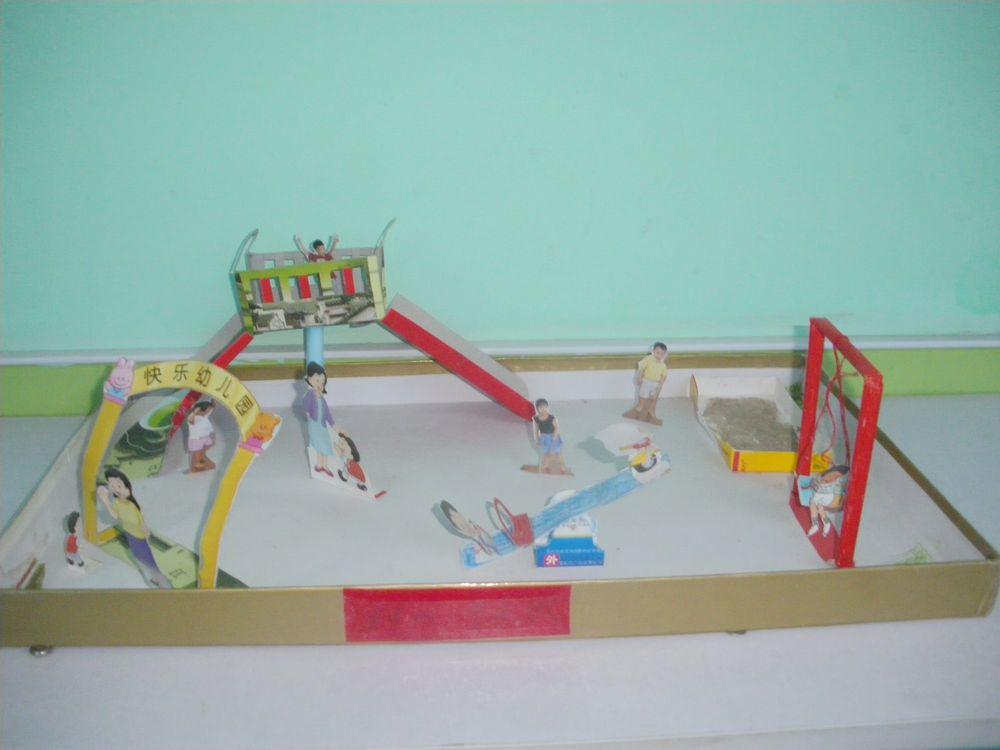 幼儿废旧物手工作品|新乡幼儿园网