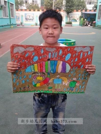 少儿绘画作品展 新乡城建幼儿园柠檬班 往届