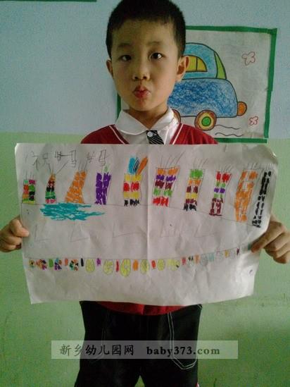 送给妈妈的礼物:新乡市小清华幼儿园