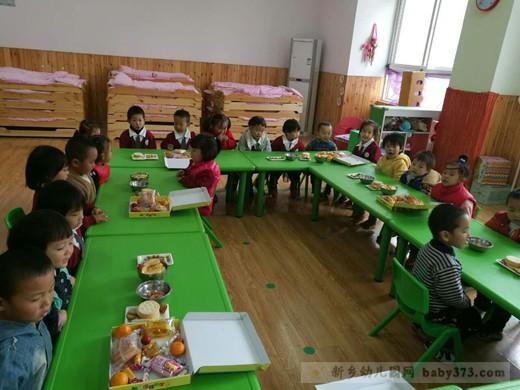 分享食物哒:新乡高新区小清华幼儿园石榴班