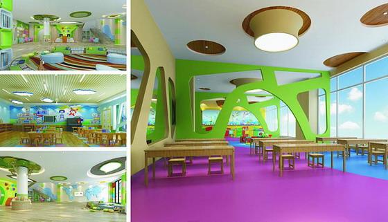 新乡幼儿园装饰设计:河南滋德装饰工程有限公司