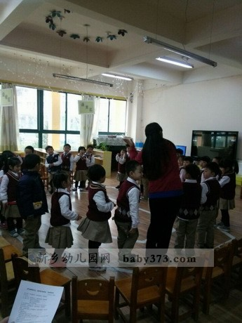 观摩课活动:新乡建业小哈佛金龙幼儿园